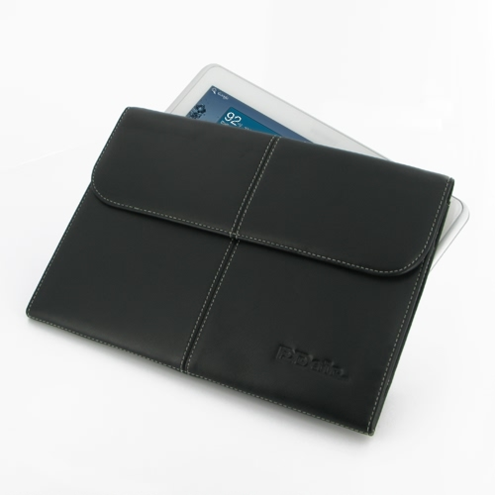 10% OFF + FREE SHIPPING, Buy PDair Top Quality Handmade Protective Samsung Galaxy Tab 2 10.1 Leather Sleeve Pouch (Black) online. You also can go to the customizer to create your own stylish leather case if looking for additional colors, patterns and type