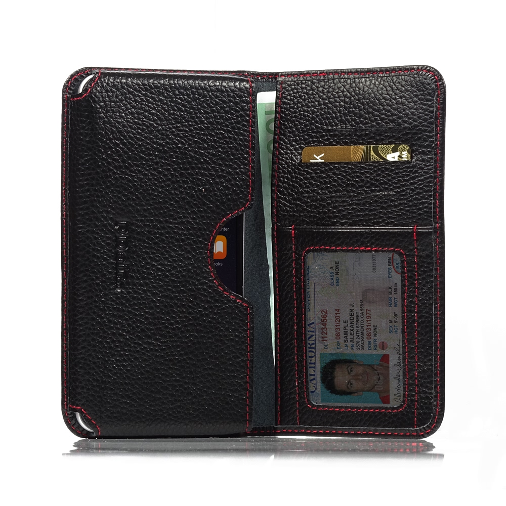 10% OFF + FREE SHIPPING, Buy PDair Quality Handmade Protective iPhone 6 Plus | iPhone 6s Plus Genuine Leather Wallet Sleeve Case (Red Stitching). You also can go to the customizer to create your own stylish leather case if looking for additional colors, p