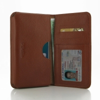 10% OFF + FREE SHIPPING, Buy PDair Quality Handmade Protective Huawei Honor 4X Leather Wallet Sleeve Case (Brown Pebble Leather) online. You also can go to the customizer to create your own stylish leather case if looking for additional colors, patterns a