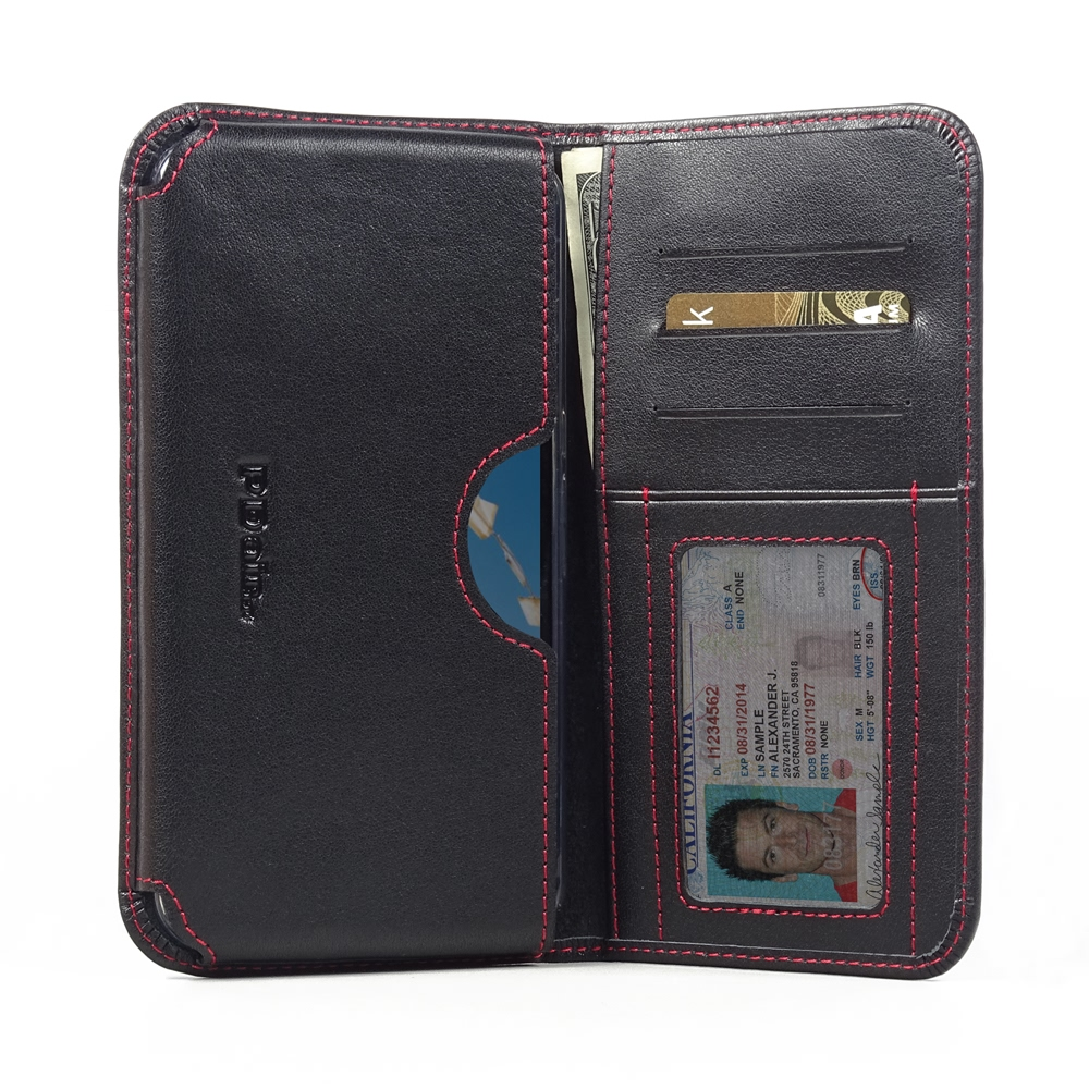 10% OFF + FREE SHIPPING, Buy PDair Quality Handmade Protective Google Nexus 6 (in Slim Cover) Leather Wallet Sleeve Case (Red Stitch). You also can go to the customizer to create your own stylish leather case if looking for additional colors, patterns and