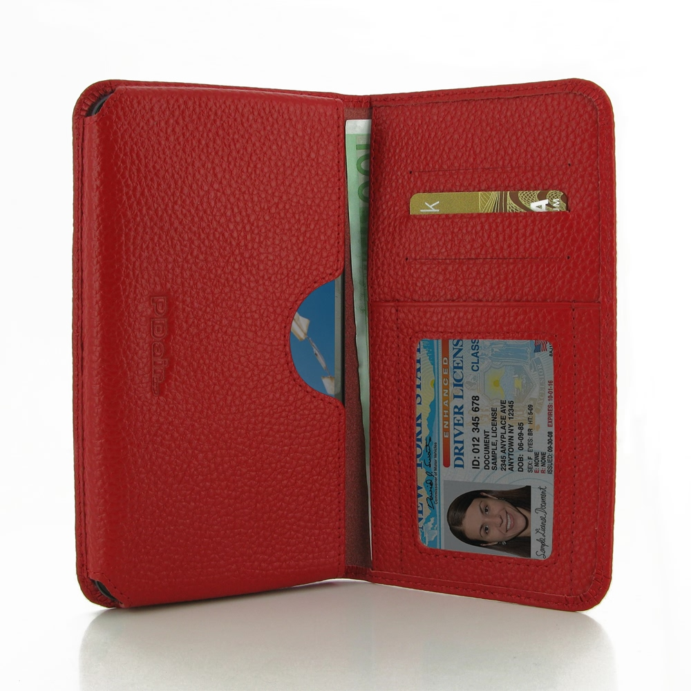 10% OFF + FREE SHIPPING, Buy PDair Top Quality Handmade Protective Google Nexus 6 Leather Wallet Sleeve Case (Red Pebble Leather) You also can go to the customizer to create your own stylish leather case if looking for additional colors, patterns and type