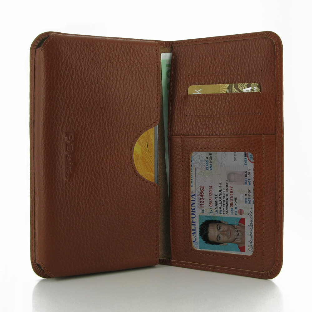 10% OFF + FREE SHIPPING, Buy PDair Quality Handmade Protective Samsung Galaxy Note 3 Leather Wallet Sleeve Case (Brown Pebble Leather). You also can go to the customizer to create your own stylish leather case if looking for additional colors, patterns an