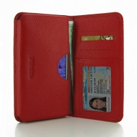 10% OFF + FREE SHIPPING, Buy PDair Quality Handmade Protective Samsung Galaxy Note 4 Leather Wallet Sleeve Case (Red Pebble Leather). You also can go to the customizer to create your own stylish leather case if looking for additional colors, patterns and