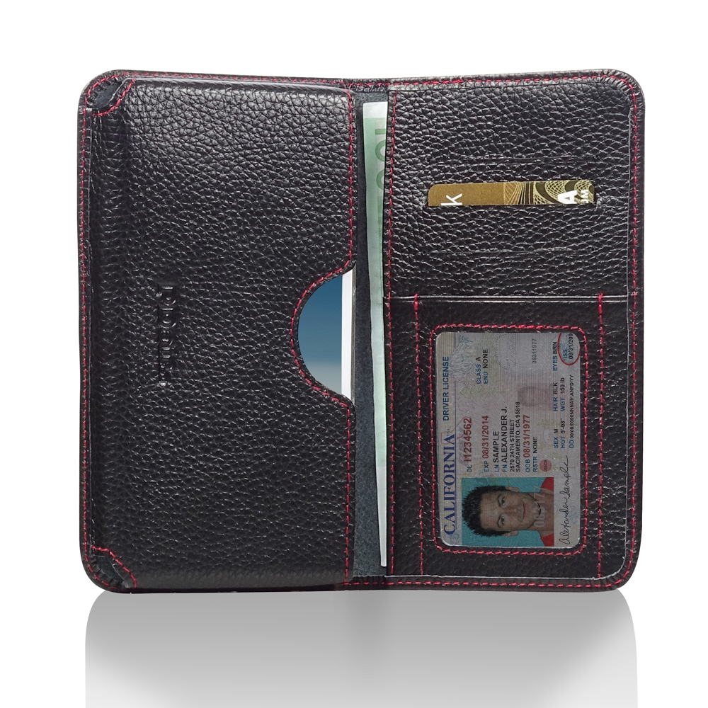 10% OFF + FREE SHIPPING, Buy Best PDair Quality Handmade Protective Samsung Galaxy Note 2 Leather Wallet Sleeve Case (Red Stitching) You also can go to the customizer to create your own stylish leather case if looking for additional colors, patterns and t