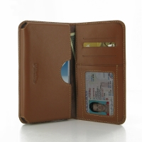Leather Card Wallet for Samsung Galaxy Note 2 | Samsung Galaxy Note2 | GT-N7100 (Brown)
