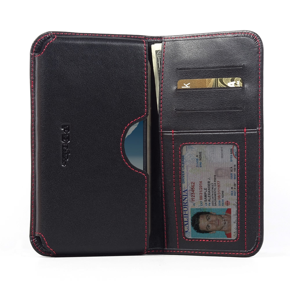 10% OFF + FREE SHIPPING, Buy PDair Handmade Protective Samsung Galaxy Note 2 (in Slim Cover) Leather Wallet Sleeve Case (Red Stitch) online. You also can go to the customizer to create your own stylish leather case if looking for additional colors, patter