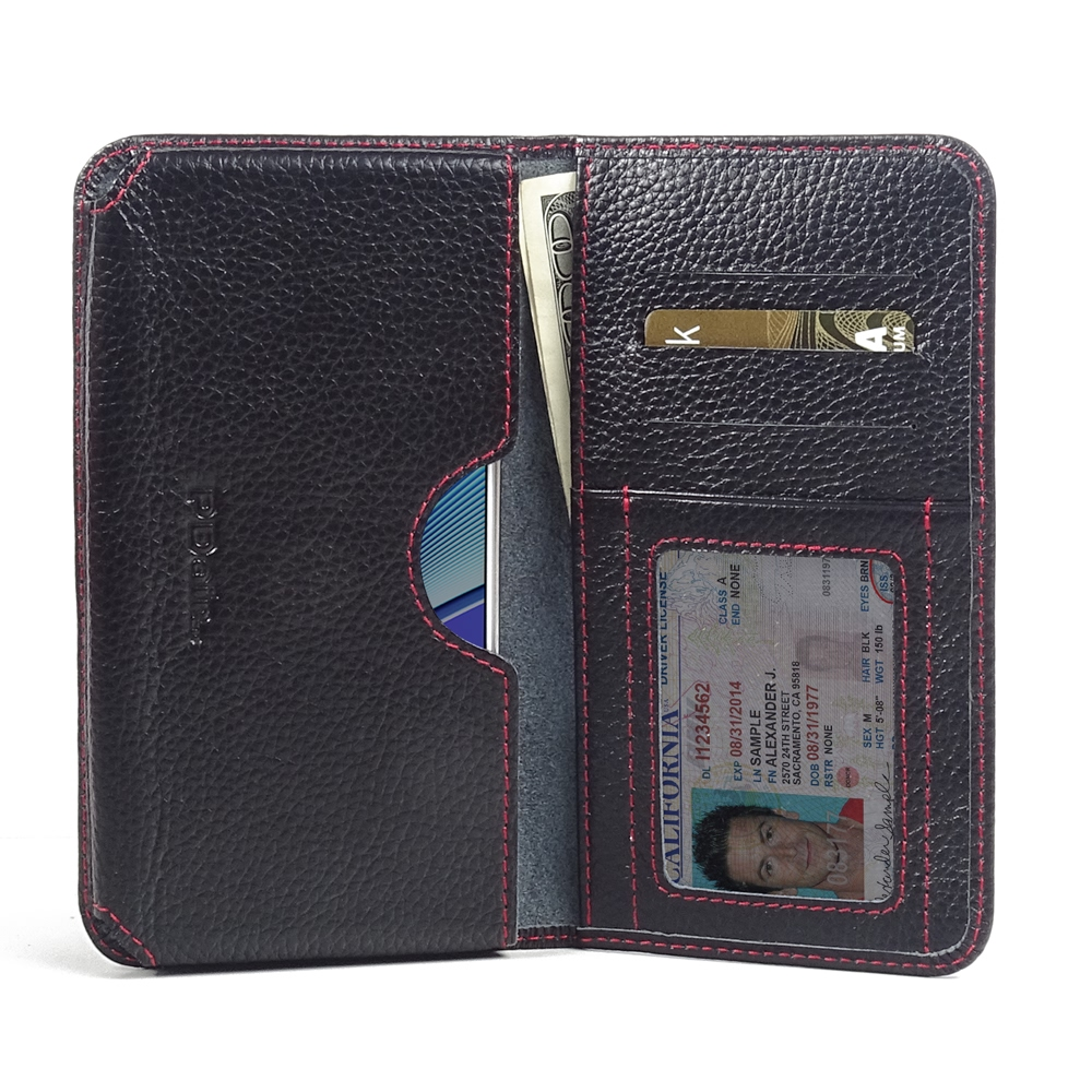 10% OFF + FREE SHIPPING, Buy Best PDair Quality Handmade Protective Samsung Galaxy Note 5 Leather Wallet Sleeve Case (Red Stitching) You also can go to the customizer to create your own stylish leather case if looking for additional colors, patterns and t