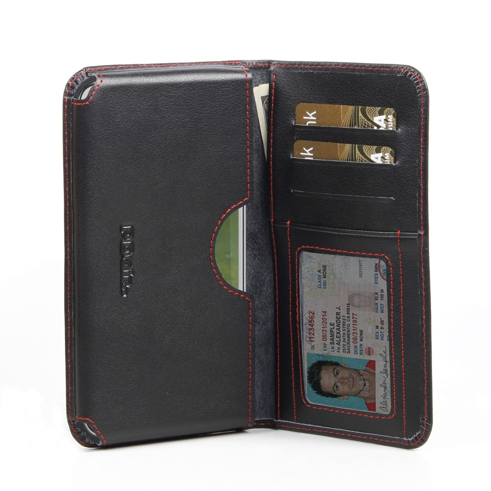 10% OFF + FREE SHIPPING, Buy PDair Top Quality Handmade Protective Samsung Galaxy S4 Leather Wallet Sleeve Case (Red Stitch) online. You also can go to the customizer to create your own stylish leather case if looking for additional colors, patterns and t