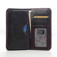 10% OFF + FREE SHIPPING, Buy PDair Quality Handmade Protective Samsung Galaxy S5 Active Leather Wallet Sleeve Case (Red Stitching) online. You also can go to the customizer to create your own stylish leather case if looking for additional colors, patterns