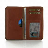 10% OFF + FREE SHIPPING, Buy Best PDair Handmade Protective Samsung Galaxy S5 Active Leather Wallet Sleeve Case (Brown Pebble Leather). You also can go to the customizer to create your own stylish leather case if looking for additional colors, patterns an