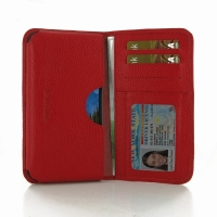 10% OFF + FREE SHIPPING, Buy PDair Quality Handmade Protective Samsung Galaxy S5 Active Leather Wallet Sleeve Case (Red Pebble Leather). You also can go to the customizer to create your own stylish leather case if looking for additional colors, patterns a