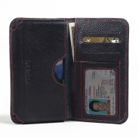 10% OFF + FREE SHIPPING, Buy PDair Quality Handmade Protective Samsung Galaxy S6 Active Leather Wallet Sleeve Case (Red Stitching) online. You also can go to the customizer to create your own stylish leather case if looking for additional colors, patterns