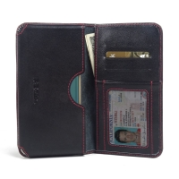 10% OFF + FREE SHIPPING, Buy PDair Quality Handmade Protective Samsung Galaxy S6 edge+ Plus Leather Wallet Sleeve Case (Red Stitch) online. You also can go to the customizer to create your own stylish leather case if looking for additional colors, pattern