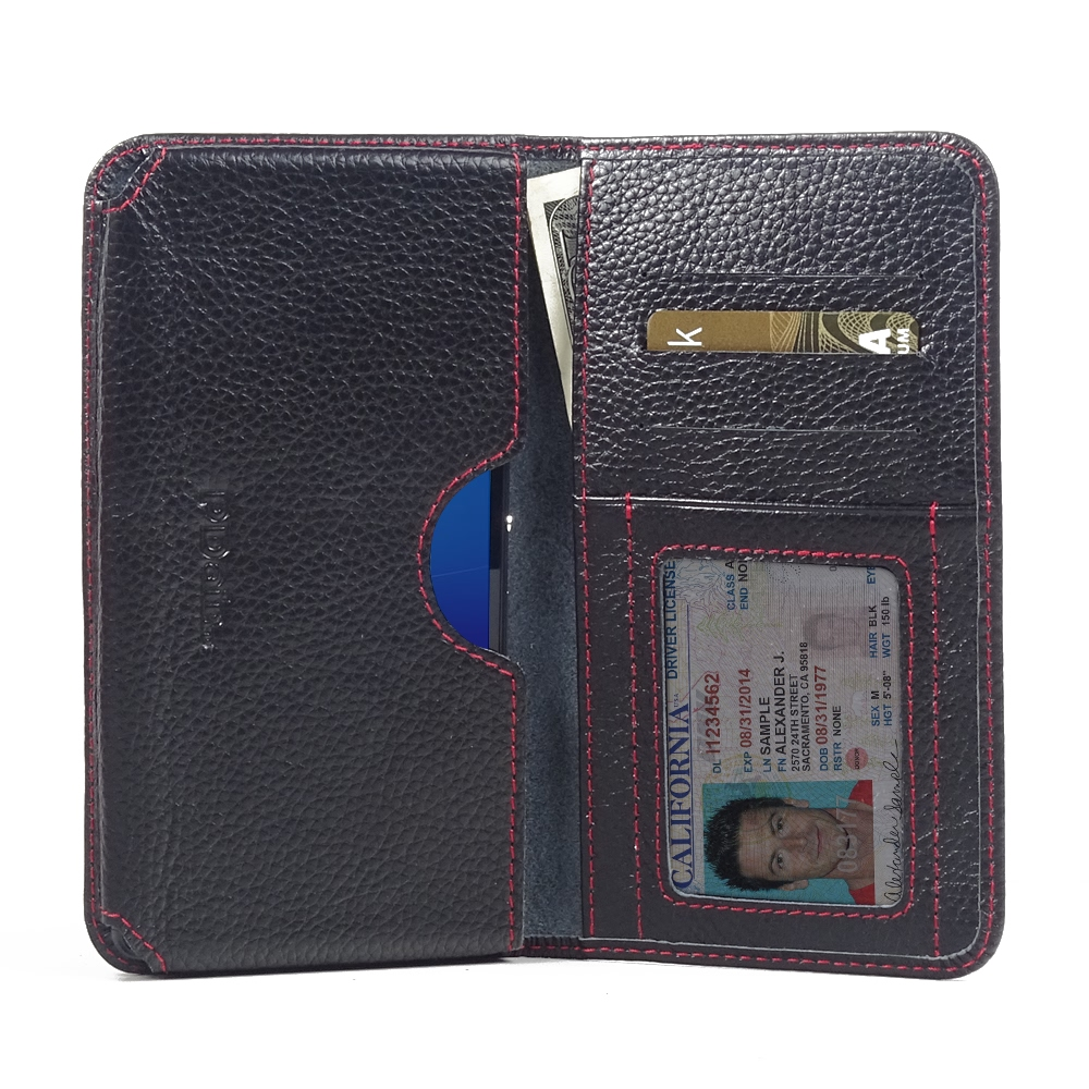 10% OFF + FREE SHIPPING, Buy PDair Top Quality Handmade Protective Sony Xperia C4 Leather Wallet Sleeve Case (Red Stitching) online. You also can go to the customizer to create your own stylish leather case if looking for additional colors, patterns and t