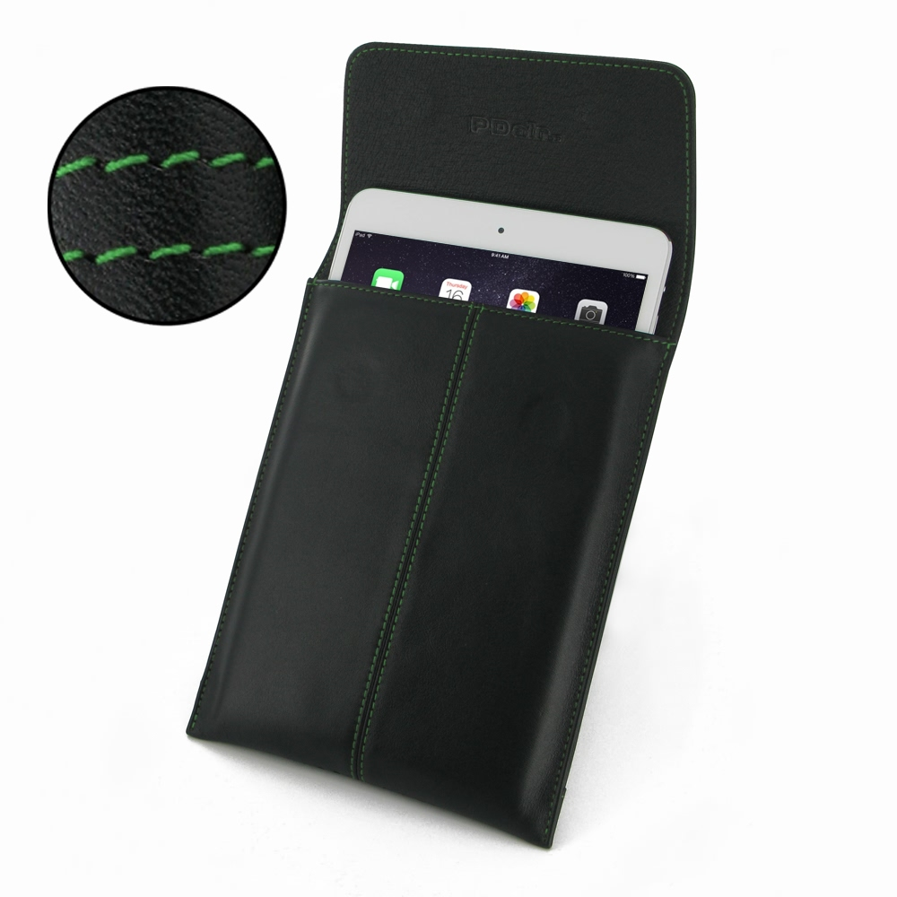 10% OFF + FREE SHIPPING, Buy Best PDair Quality Handmade Protective iPad Mini 3 / iPad Mini 2 Genuine Leather Envelope Case (Green Stitch). You also can go to the customizer to create your own stylish leather case if looking for additional colors, pattern