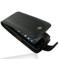 Leather Flip Case for Acer Iconia Smart S300 (Black)