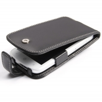 Acer Liquid E2 Duo Leather Flip Case PDair Premium Hadmade Genuine Leather Protective Case Sleeve Wallet