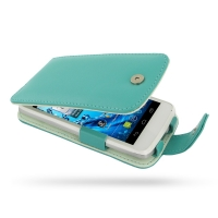 10% OFF + FREE SHIPPING, Buy Best PDair Quality Handmade Protective Acer Liquid Gallant Duo Genuine Leather Flip Case (Aqua) online. You also can go to the customizer to create your own stylish leather case if looking for additional colors, patterns and t