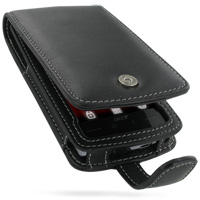 Leather Flip Case for Acer Neo Touch S200 (Acer F1) (Black)