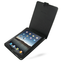 Leather Flip Case for Apple iPad