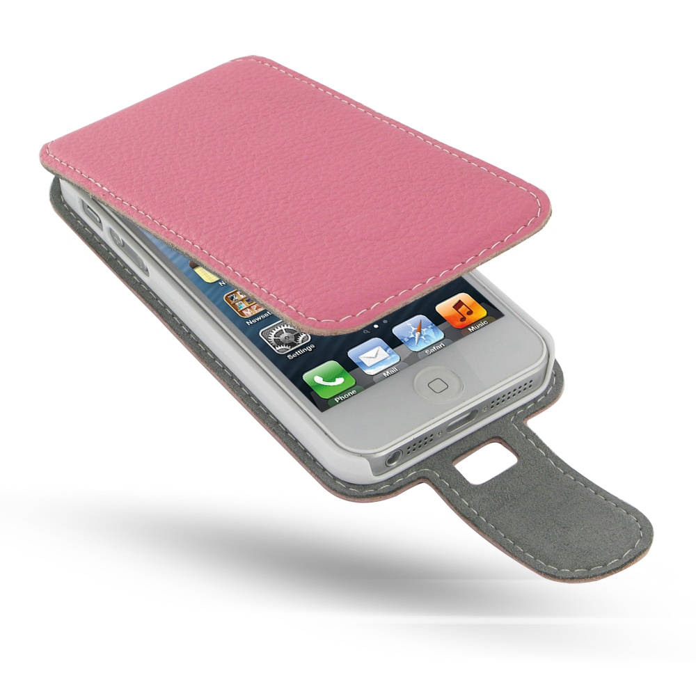10% OFF + FREE SHIPPING, Buy Best PDair Quality Handmade Protective iPhone 5 | iPhone 5s Genuine Leather Flip Case (Pink Pebble Genuine Leather). You also can go to the customizer to create your own stylish leather case if looking for additional colors, p