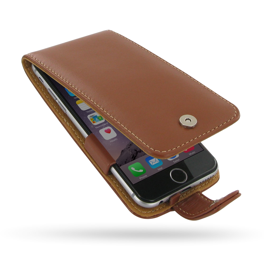 10% OFF + FREE SHIPPING, Buy Best PDair Quality Handmade Protective iPhone 6 | iPhone 6s Genuine Leather Flip Case (Brown) online. Pouch Sleeve Holster Wallet You also can go to the customizer to create your own stylish leather case if looking for additio