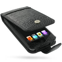 10% OFF + FREE SHIPPING, Buy Best PDair Quality Handmade Protective iPod Touch Genuine Leather Flip Case (Black Croc Pattern). Pouch Sleeve Holster Wallet You also can go to the customizer to create your own stylish leather case if looking for additional