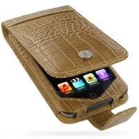 10% OFF + FREE SHIPPING, Buy Best PDair Quality Handmade Protective iPod Touch Genuine Leather Flip Case (Brown Croc Pattern). Pouch Sleeve Holster Wallet You also can go to the customizer to create your own stylish leather case if looking for additional