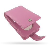 Leather Flip Case for Apple New iPod Classic 2nd (120GB/160GB) (Petal Pink)