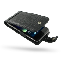 10% OFF + FREE SHIPPING, Buy Best PDair Quality Handmade Protective Asus PadFone 2 Genuine Leather Flip Case (Black Croc Pattern) You also can go to the customizer to create your own stylish leather case if looking for additional colors, patterns and type