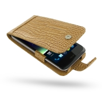 10% OFF + FREE SHIPPING, Buy Best PDair Quality Handmade Protective Asus PadFone 2 Genuine Leather Flip Case (Brown Croc Pattern) You also can go to the customizer to create your own stylish leather case if looking for additional colors, patterns and type