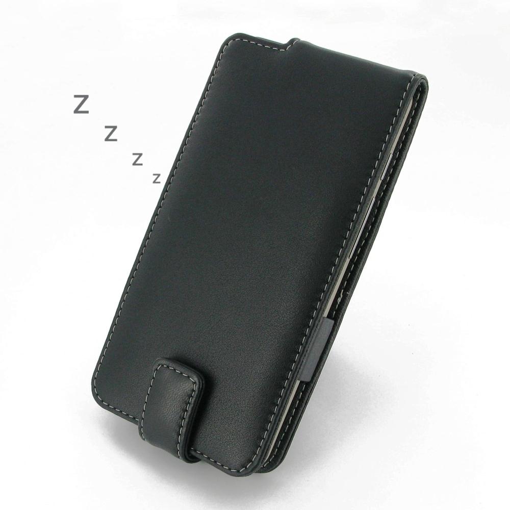 pretty nice e2d4b a1edd Leather Flip Case for Asus ZenFone 5