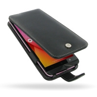 Asus Zenfone Selfie ZD551KL Leather Flip Case PDair Premium Hadmade Genuine Leather Protective Case Sleeve Wallet