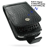 10% OFF + FREE SHIPPING, Buy PDair Quality Handmade Protective BlackBerry Bold 9000 Genuine Leather Flip Case (Black Croc Pattern). You also can go to the customizer to create your own stylish leather case if looking for additional colors, patterns and ty