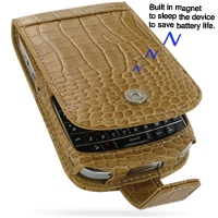 10% OFF + FREE SHIPPING, Buy PDair Quality Handmade Protective BlackBerry Bold 9000 Genuine Leather Flip Case (Brown Croc Pattern). You also can go to the customizer to create your own stylish leather case if looking for additional colors, patterns and ty
