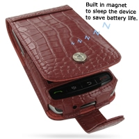 10% OFF + FREE SHIPPING, Buy Best PDair Quality Handmade Protective BlackBerry Storm Genuine Leather Flip Case (Red Croc Pattern) You also can go to the customizer to create your own stylish leather case if looking for additional colors, patterns and type