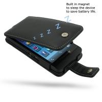 Leather Flip Case for BlackBerry Z10