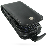 Leather Flip Case for DoCoMo SC-01B (Black)