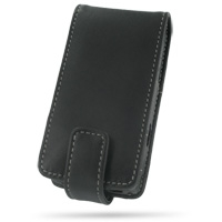Leather Flip Case for Gigabyte GSmart i300 (Black)