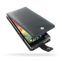 Leather Flip Case for HP Slate 6 VoiceTab