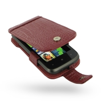 10% OFF + FREE SHIPPING, Buy PDair Top Quality Handmade Protective HTC 7 Mozart T8698 Leather Flip Case (Red Croc Pattern) online. Pouch Sleeve Holster Wallet You also can go to the customizer to create your own stylish leather case if looking for additio