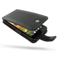 HTC Butterfly Leather Flip Case PDair Premium Hadmade Genuine Leather Protective Case Sleeve Wallet