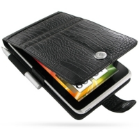 10% OFF + FREE SHIPPING, Buy Best PDair Top Quality Handmade Protective HTC Flyer Leather Flip Case (Black Croc Pattern) online. Pouch Sleeve Holster Wallet You also can go to the customizer to create your own stylish leather case if looking for additiona