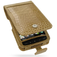 10% OFF + FREE SHIPPING, Buy PDair Top Quality Handmade Protective HTC HD2 Leo T8585 Leather Flip Case (Brown Croc Pattern) online. You also can go to the customizer to create your own stylish leather case if looking for additional colors, patterns and ty