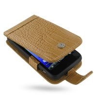 10% OFF + FREE SHIPPING, Buy PDair Top Quality Handmade Protective HTC Incredible S Leather Flip Case (Brown Croc Pattern) online. Pouch Sleeve Holster Wallet You also can go to the customizer to create your own stylish leather case if looking for additio
