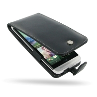 Leather Flip Case for HTC One E8
