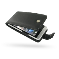 Leather Flip Case for HTC One mini 601