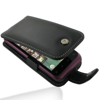 Leather Flip Case for HTC Rhyme S510b/HTC Bliss (Black)