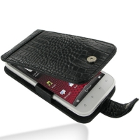 10% OFF + FREE SHIPPING, Buy PDair Top Quality Handmade Protective HTC Sensation XL Leather Flip Case (Black Croc Pattern) online. Pouch Sleeve Holster Wallet You also can go to the customizer to create your own stylish leather case if looking for additio