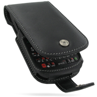 Leather Flip Case for HTC Snap/HTC S522/HTC Maple 100 (Black)